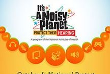 October is National Protect Your Hearing Month / by National Institutes of Health