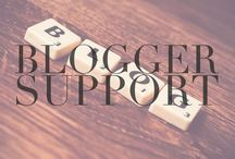 Blogger Support / Posts from other bloggers that I'm helping provide support.