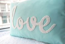 pillows / by Elizabeth Bucec