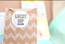 Lucky Dip Club + Folksy / 300 limited edition boxes / containing 5 handmade never-before-seen goodies inside / made by 15 super talented Folksy designers / 1 chance to get one / set your alarms for 7am on Friday 5 June.