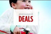 Giveaways and Deals / From time to time, we run special promotions at RadioFlyer.com.  Check here for the latest and greatest or visit RadioFlyer.com and sign up for our Birthday Club to receive email updates and $10 off any product for your child's birthday!
