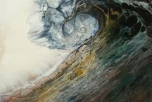 Mixed Media Paintings, Drawings and Prints