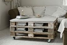 Pallets / by Wendy McMonigle WM Design House