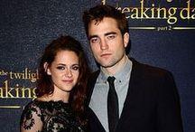 Robsten / Robert Pattinson and Kristen Stewart. / by G