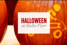 Halloween at Radio Flyer / Halloween is a fun time at our office! We dress up in costumes, carve pumpkins and share spooktacular treats.  / by Radio Flyer Inc.