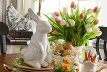 Easter, Spring and Bulbs / Easter decorating, bulbs and spring decor / by Wendy McMonigle WM Design House