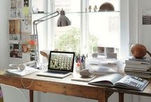 Perfect Workspaces / Work from home in these amazing spaces - I wish!