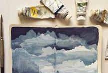 Art ~ Sketchbooks / Inspiration from wonderful sketchbooks and journals.