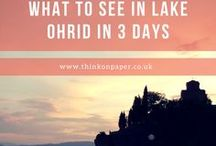 Lake Ohrid in three days / What to see and do in Lake Ohrid, Macedonia in three days