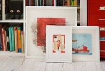 Corners of my home / I'm Natalie Ratkovski, illustrator, writer and graphic designer, currently living in Oberhausen, Germany. Here are my photos at my home.