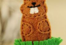 Groundhog Day / Crafts, desserts, parties, and DIY ideas related to February 2.