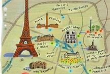 paris / love  the ijffel tower / by Adriana Meijer