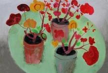 painting flowers! / by Adriana Meijer