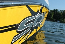 Starcraft Marine 2013 Fiberglass Boats / Starcraft Marine's 2013 Fiberglass Boat Collection offers performance other deckboats can only dream about. The boats offer versatility to swim, fish, ski or FLY!