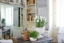 Cottage Charm....... / Vintage Treasures and Shabby Chic Stylings....
