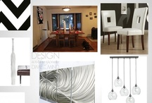 Designs In Progress / Projects that are in progress with clients. See how these rooms develop.