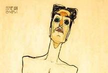 Egon Schiele / by Alejandro Fischer