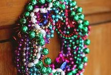 Mardi Gras / Crafts, DIY, party ideas and desserts for Mardi Gras! / by Heidi | Hands Occupied