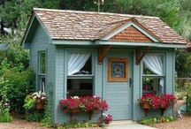 Tiny Houses / My dream is to have a tiny house in my own backyard. / by Susan Dominy