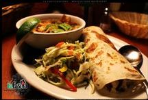 Al Pastor Burrito Tortilla Soup and Salad for Lunch / $8 and $10 daily lunch specials at La Casita Gastown Mexican Food Restaurant 101 West Cordova str, V6B 1E1 Vancouver, BC, CANADA Phone: 604 646 2444 Email: info@lacasita.ca http://www.lacasita.ca