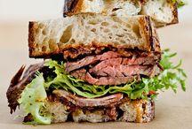 Unique Eats: Burgers and Sandwiches / by Renée K