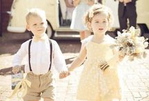 Wedding ideas for little ones / Wedding ideas and inspiration for the little ones