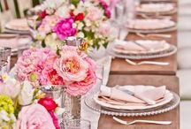 Wedding Tablescape / Wedding tablescape ideas and inspiration.