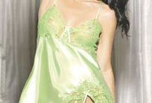 Sexy Lingerie - Green / Sexy lingerie in shades of Emerald, Jade, Lime and Mint / by WickedTemptations.com
