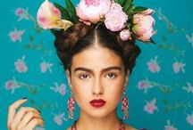 Photography / Inspired by Frida Kahlo / Art, design, illustration inspired by the Mexican artist Frida Kahlo