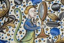 Illuminated Marginalia & Miniatures