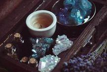 Cabinet of Curiosities / Cabinet of Curiosities - Raw crystals, minerals & all other unique tidbits.
