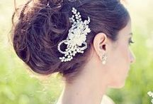 Bridal Hair, Nails and Jewelry / You are unique, so your wedding style should be unique too! Whether you are inspired by modern, vintage, organic or classic style, Borsheims Fine Jewelry & Gifts can help you complete your perfect wedding look.  / by Borsheims Fine Jewelry and Gifts