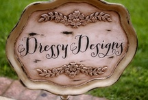 Dressy Designs DIY projects / Many projects that Stacy Gonzales and I create for weddings.