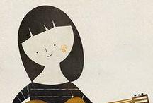 illustrations. / by Carolina Varas Urenda