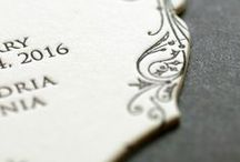 wedding invitation inspiration / beautiful work from our fellow designers and calligraphers
