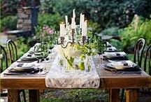 party planner / themes, table settings, flower arrangements, decorations and more. perfect for fall, spring, summer and winter parties alike! / by Girl by the Lake