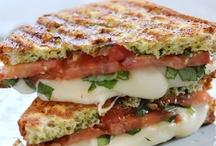 Burger & Sandwich Recipes / by Lisa B