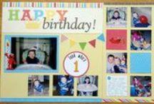 Scrapbook-Birthdays
