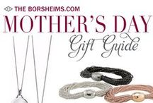 Mother's Day Gifts / A mother is she who can take the place of all others but whose place no one else can take. – Anna, Siolhan & Jack / by Borsheims Fine Jewelry and Gifts