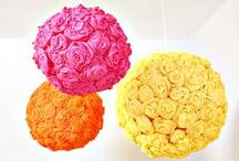 Flowers DIY / Fabric diy flower and more flower tutorials.