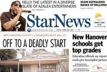 StarNews front pages / Front pages from the daily StarNews in Wilmington, N.C. / by StarNews Media