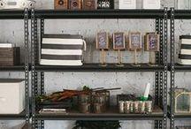 bookshelf + styling / by emily // jones design company