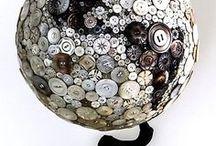 Button Art & Decor