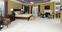 Beautiful Bedrooms / Peaceful and relaxing bedrooms from Williamsburg Homes.