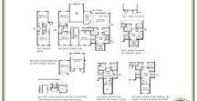 Designer Floor Plans / The most sought-after floor plans at Williamsburg Homes.