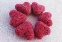 Valentine crafts supplies