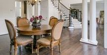 Sophisticated Dining Rooms / Modern and magnificent dining rooms from Williamsburg Homes.