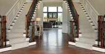 Elegant Entryways / Our most enchanting entryways at Williamsburg Homes.