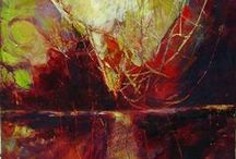 Encaustic paintings and tutorials