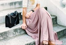 Style / Give me tulle, give me oxfords, give me mint colors, give me layers... / by Angela Caridi